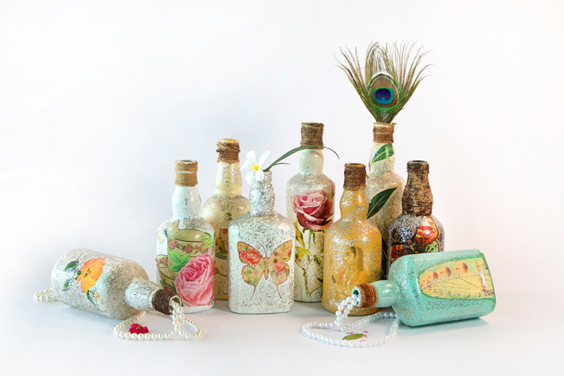 Bottle-Decoupage-Lucknow-Brio-Art-House