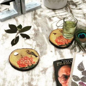 Hand-painted-Neem-Coasters-Buy-Online