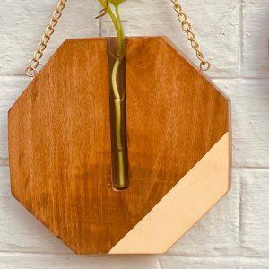 Octagon-Wall-planter