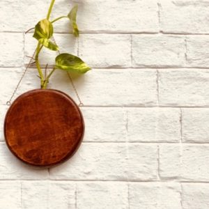 Round-Wall-hanging-Planter