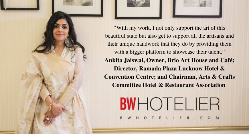Ankita Jaiswal Brio Art Cafe BW Hotelier In the Media Mentions 2021